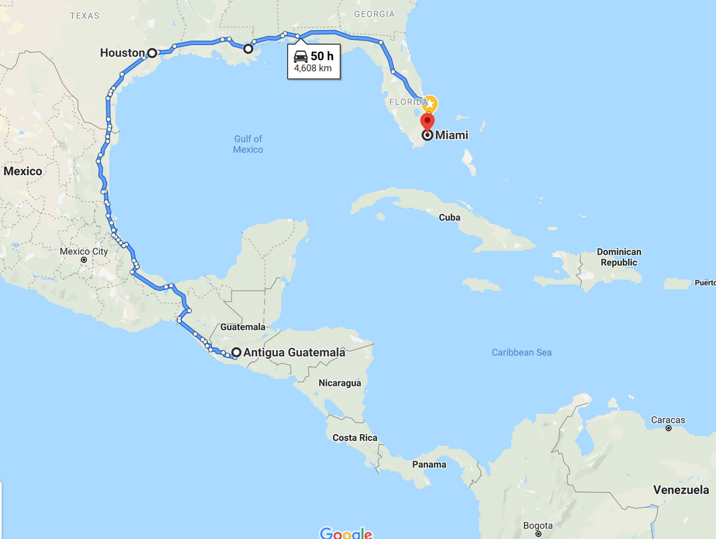 Leg 15, September 2021: Antigua to Miami