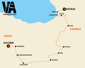 Kayseri to Kutaisi (2 weeks)