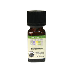 Aura Cacia Peppermint Organic Essential Oil (7.4 ml)
