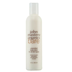 John Masters Organics - Bare Unscented Body Lotion for All Skin Types (8 fl oz.)
