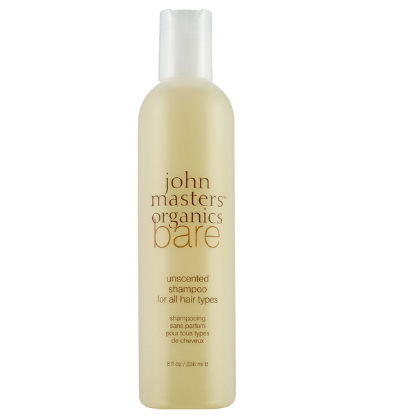 John Masters Organics - Bare Unscented Shampoo for All Hair Types (8 fl oz. )