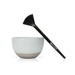 Mask Treatment Bowl & Applicator Brush