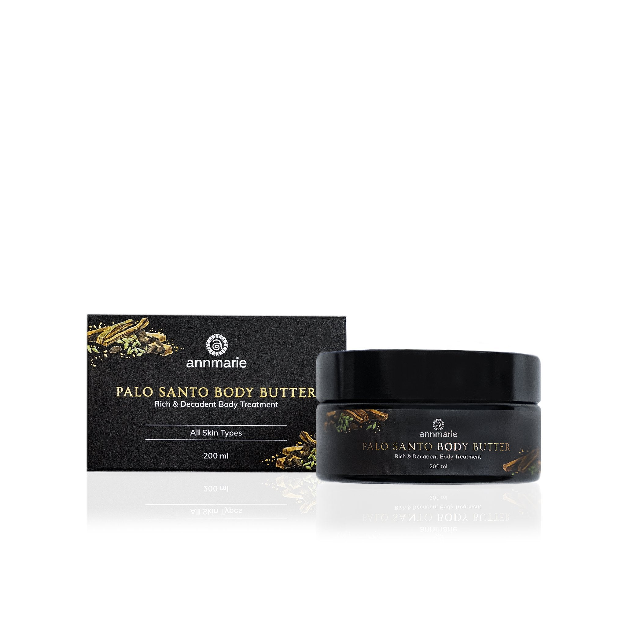 Palo Santo Body Butter- Rich & Decadent Body Treatment (Sample size)