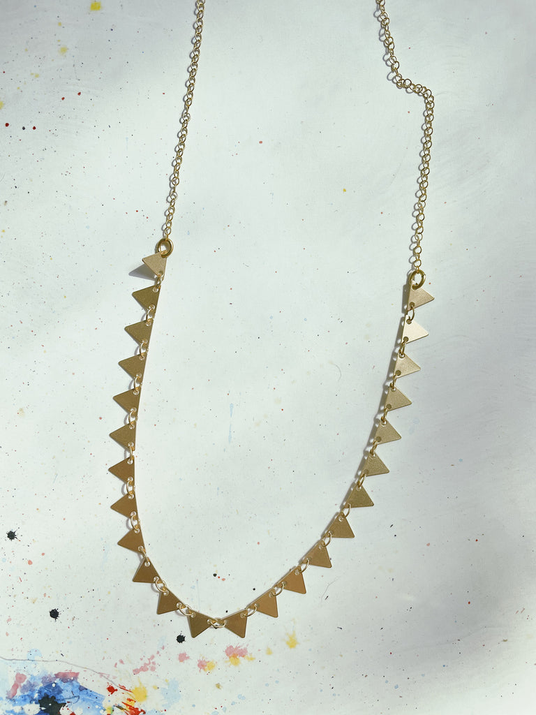 Candra Triangle Necklace
