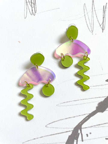 Squiggle Storm Earrings