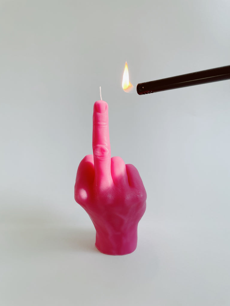 F*CK You Candle
