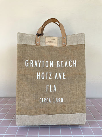 Grayton Beach Market Bag