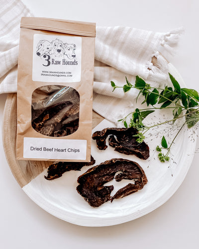 Dried Beef Heart Chips