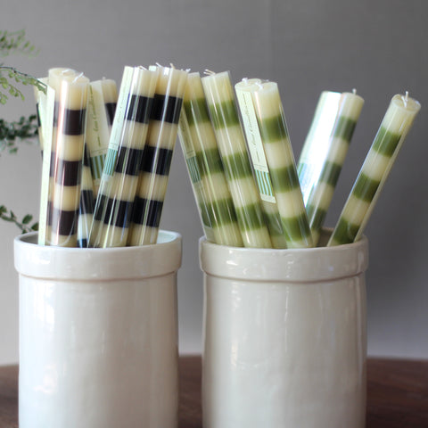 Ana striped candles Out of Stock