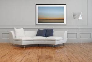 Artwork FirstLight 41 Above Sofa Black Frame