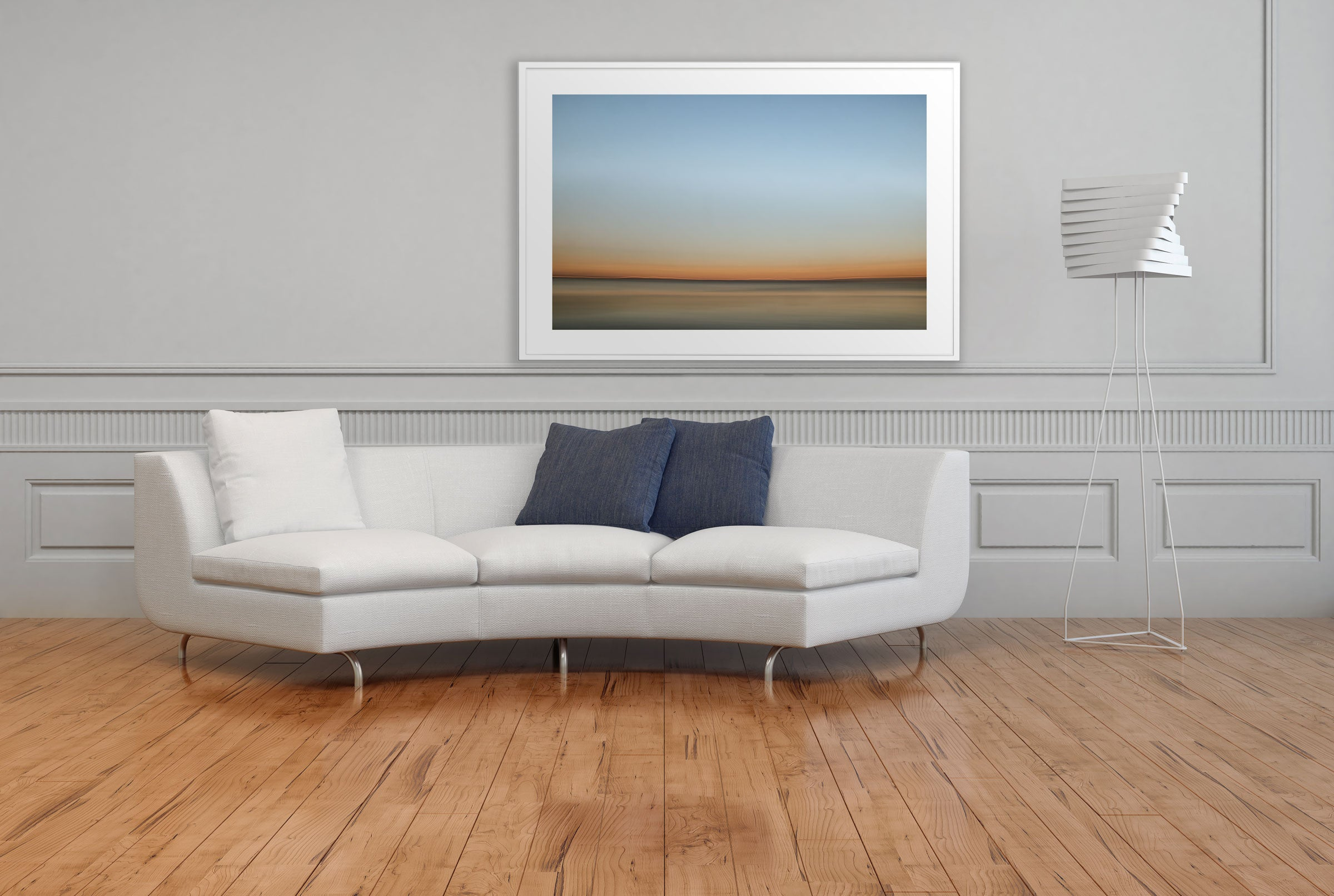 Artwork FirstLight 41 White Frame
