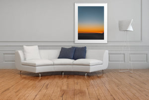 Artwork FirstLight 43 Above Sofa White Frame