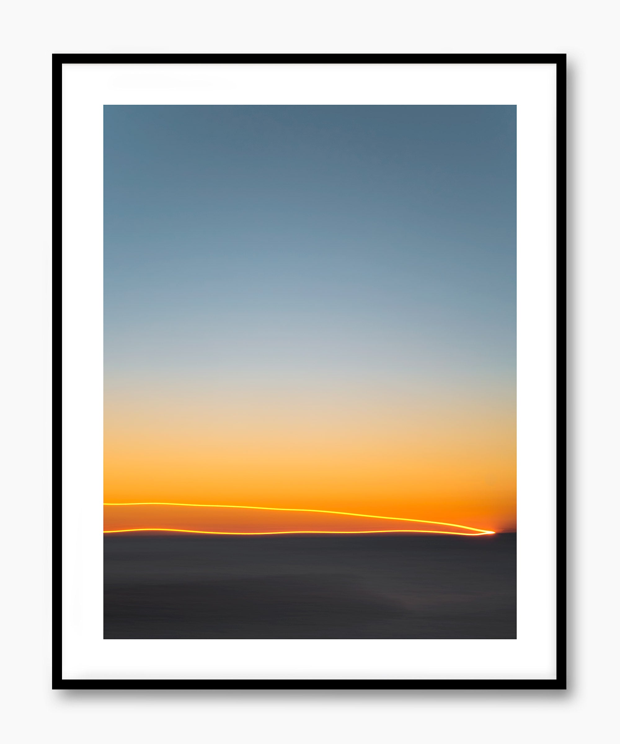 Artwork FirstLight 43 Black Frame