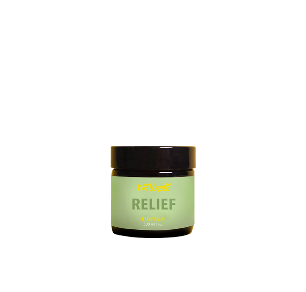 RELIEF Balm, 500mg Wellnell Hemp Extract