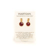 Leda Single Drop Earring