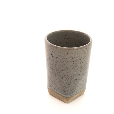 Sander Faceted Dipped Tumbler (Dove Blue)