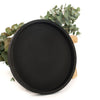 Concrete Round Tray (Black)