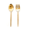 Ranya Salad Servers (Brass)