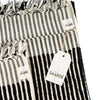 Wanderer Stripe Towels (Black)