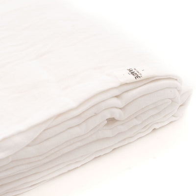 Linen Quilt Set In (White)