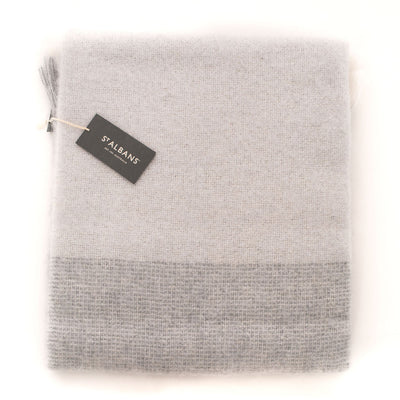 Mohair Throw Rug (Ghost)