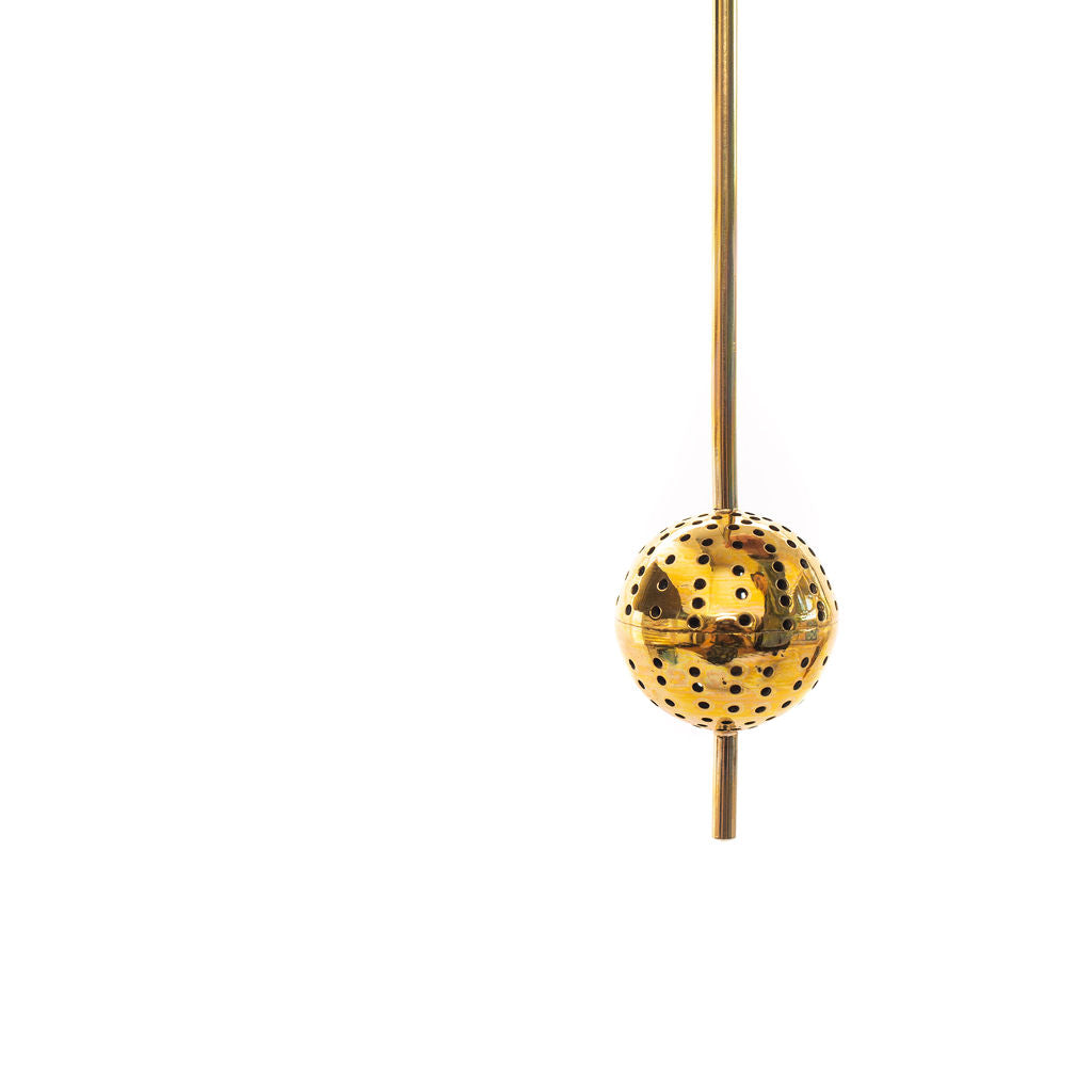 Stem Tea Strainer ( Brass)