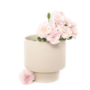 Podium Pot Medium (White & Black)