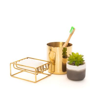 Toothbrush Holder (Brass)