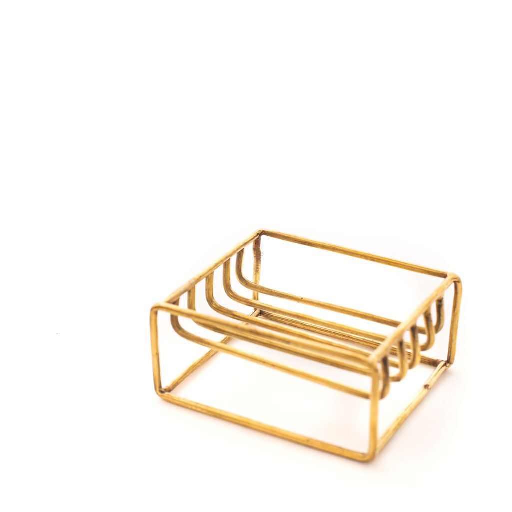 Soap Dish (Brass)