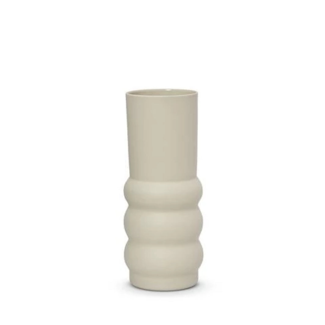 Cloud Haus Vase - LGE ( Chalk White)