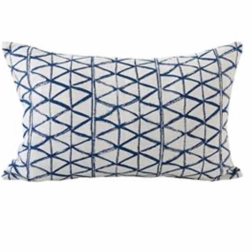 Zulu Indigo Cushion