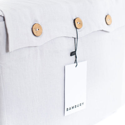 Linen Sheet Set Queen (Silver)