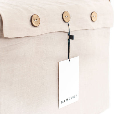 Linen Sheet Set Queen (Pebble)