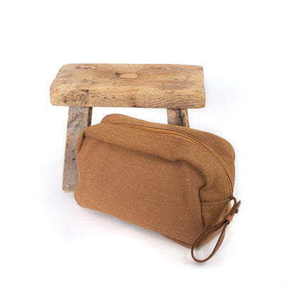 Toiletry Bag (Camel)