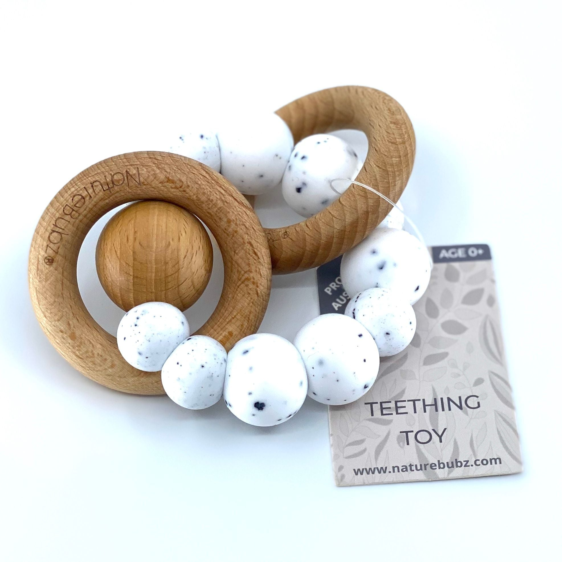 Luna Rattle (White Graphite)