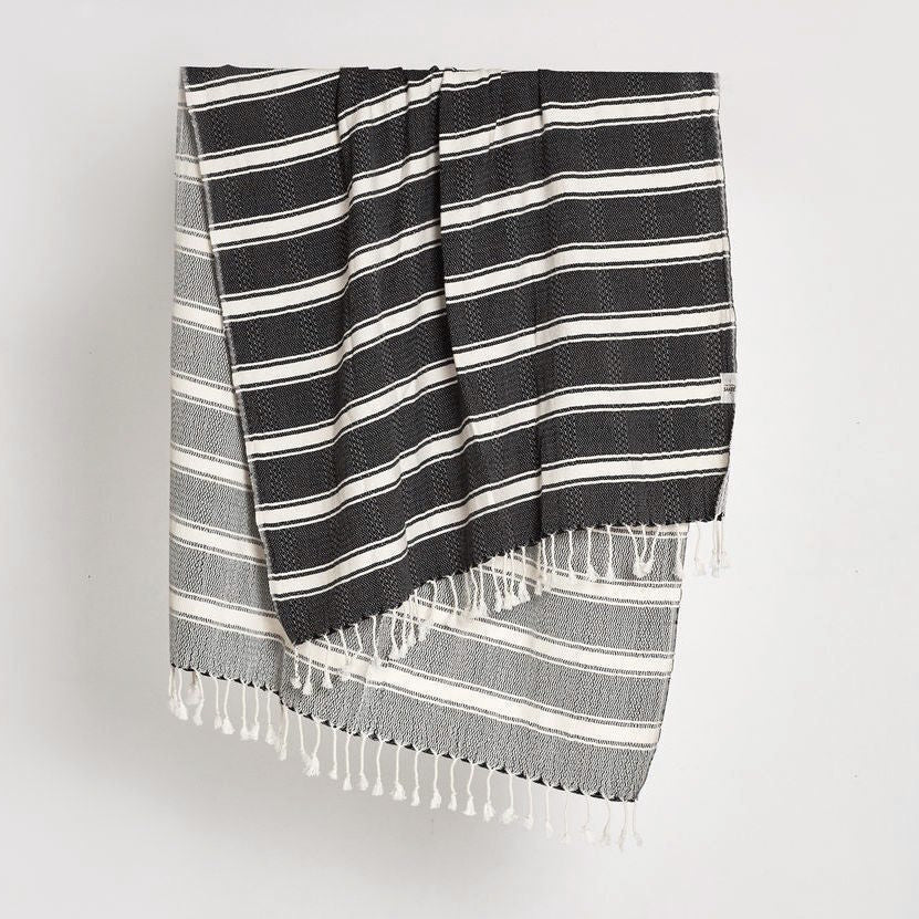 Hamam Beach Towel (Black)