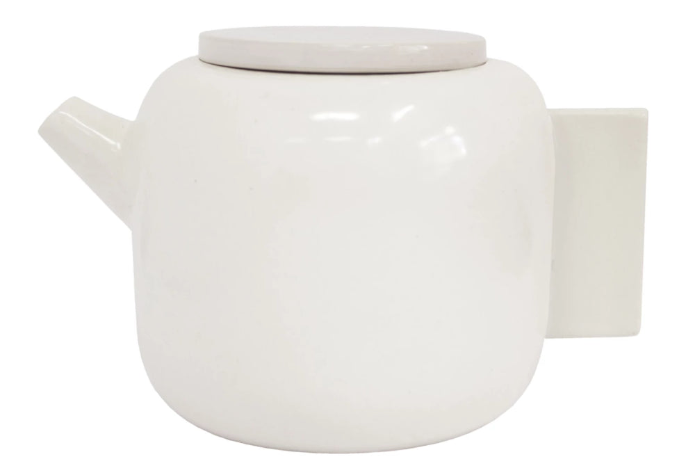 Tab Teapot (Medium White)