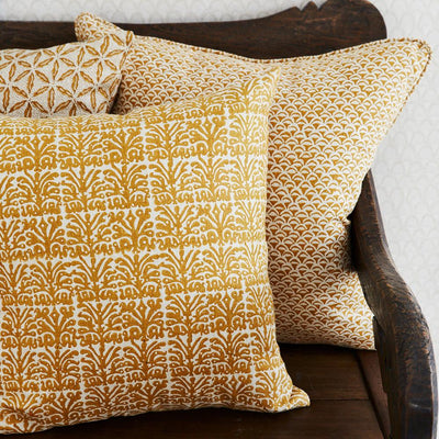 Moro Saffron Cushion