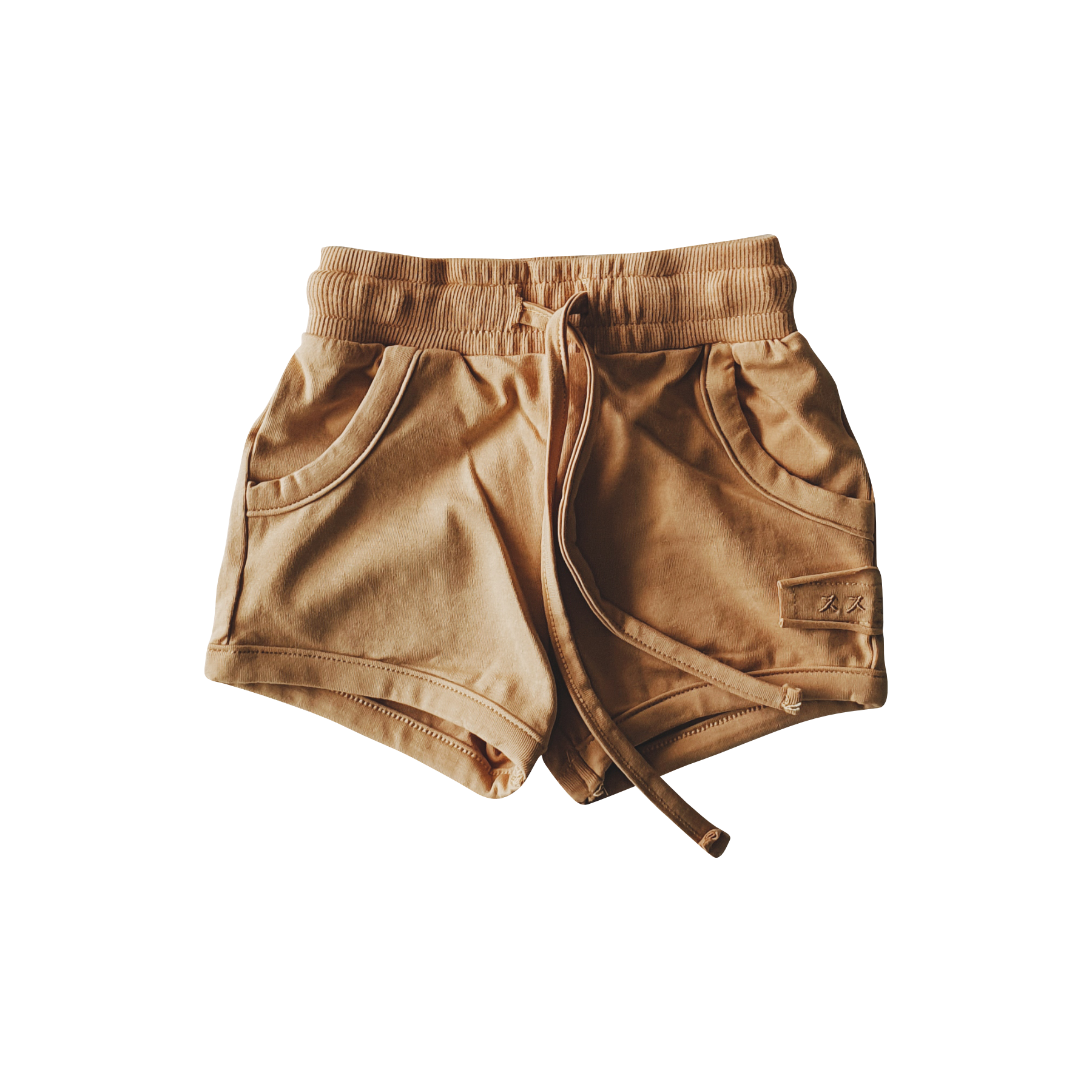 Organic Boxy Shorts (Sunkissed)