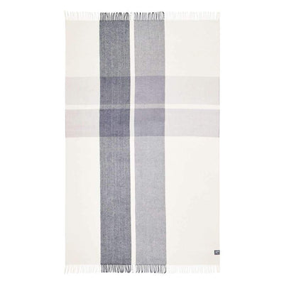 Double Cross Merino Throw (Grey)