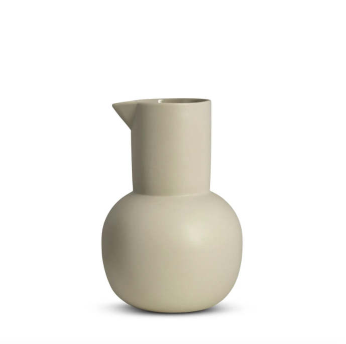 Yala Jug - Large (Chalk White)