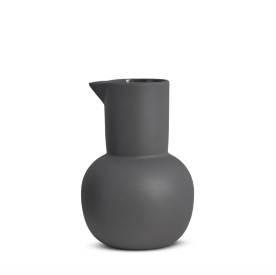 Yala Jug - Large (Charcoal)