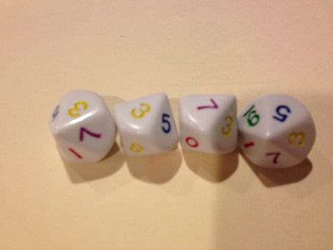10 Sided Rainbow Dice