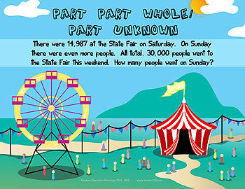 Part Part Whole Part Unknown - Fair
