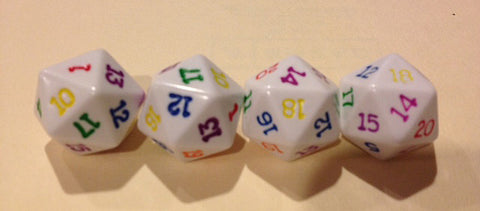 20 Sided Rainbow Dice