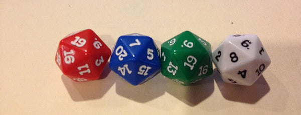 20 Sided Polyhedral Dice