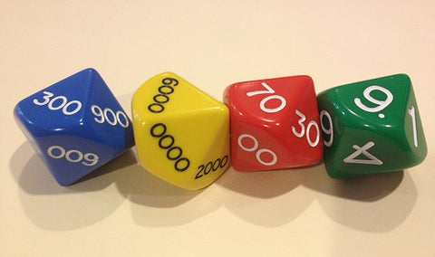 29MM 10 Sided Place Value