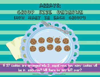 Arrays: Group Size Unknown - Cookies