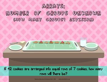 Arrays: Number of Groups Unknown - Cookies
