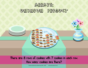 Arrays: Unknown Product - Cookies